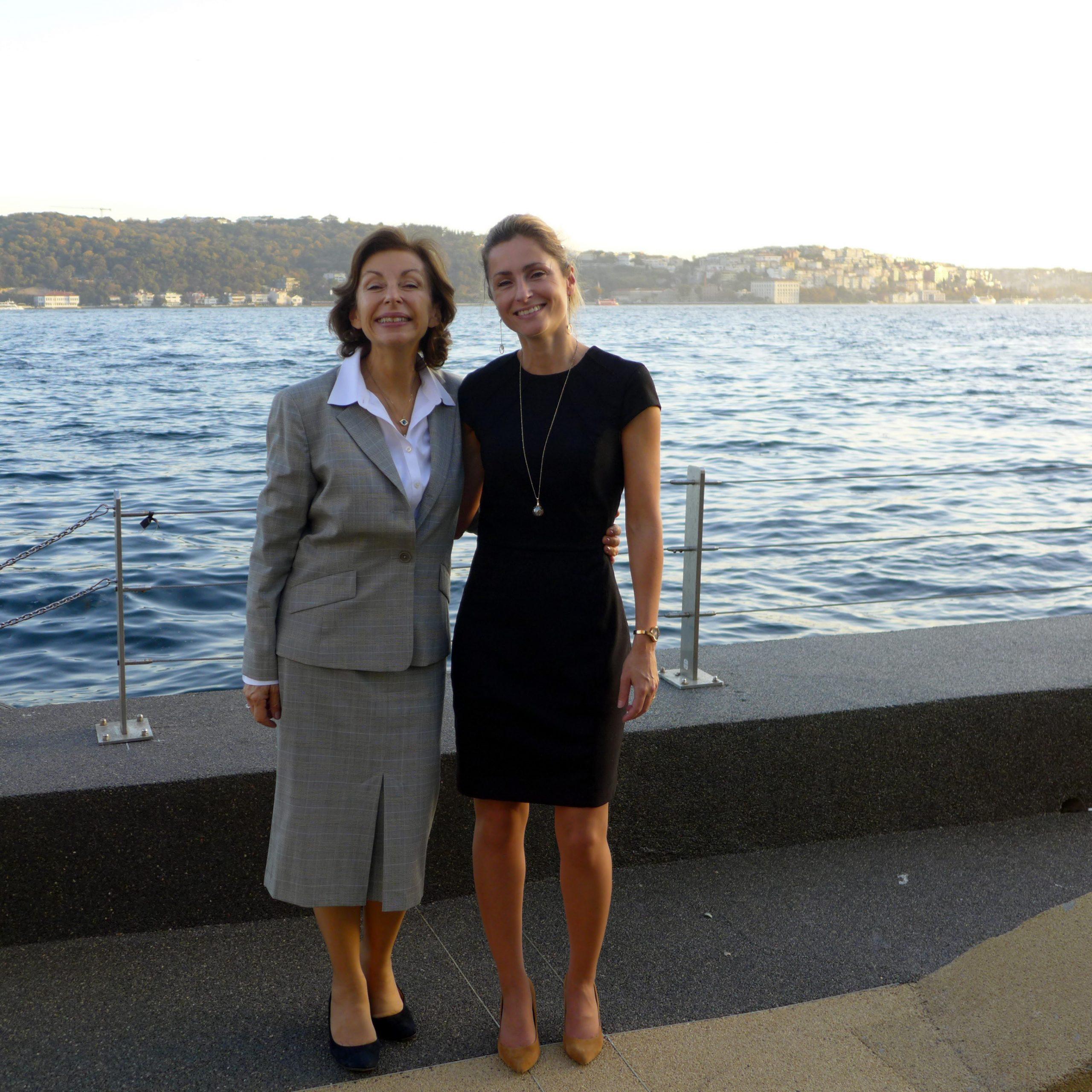 A. Le Moing et Madame Füsun Türkmen